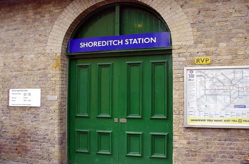 Shoreditch Tube Station