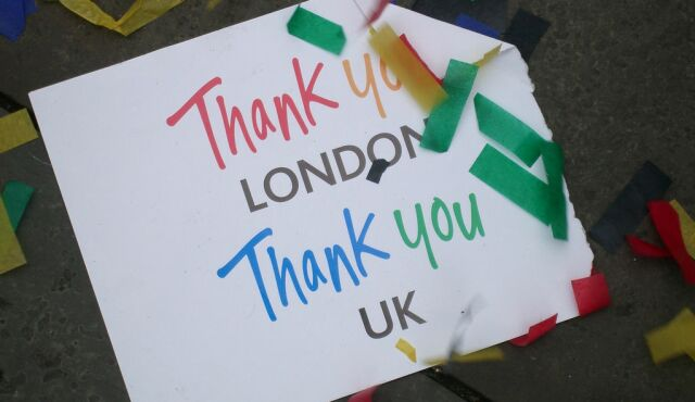 2012 Thankyou London