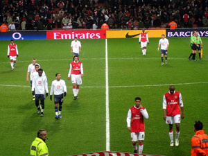 Arsenal vs. Spurs at Emirates Stadium