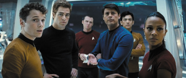 Star Trek crew