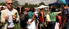 Crowd at Lambeth Country Fair 2008 by doodledub, with thanks