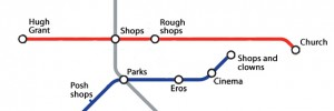 The ultimate uncluttered Tube map.