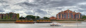 Image of Nine Elms from the river by tubb from the Londonist Flickr pool