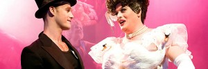 Frank (Gary Amers) and The Diva as Ethel Merman (Russell Whitehead). Photo by Spencer Cartwright