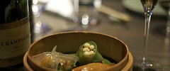 Dainty (and delicious) Yauatcha dim sum photography by Chris Osburn
