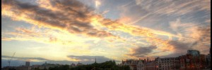 Sunset over Thames by AB Gallery via the Londonist Flickrpool