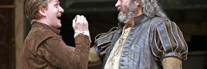 Jamie Parker (Prince Hal) and Roger Allam (Falstaff). Photograph by John Haynes