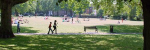 London Fields by D1v1d via the Londonist Flickrpool