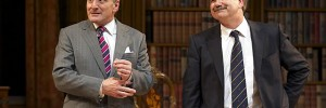 Henry Goodman (Sir Humphrey) and David Haig (PM Jim Hacker) in Yes, Prime Minister. Photo by Manuel Harlan