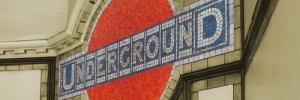 Roundel at Maida Vale station. Photo / Veronica Aguilar