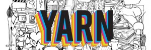 yarn logo with illustration for web