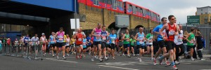 London Marathon 2010 at Limehouse by Markle1