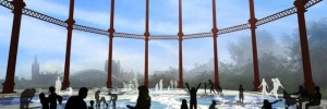 Concept image of the resurrected gasholder number 8.