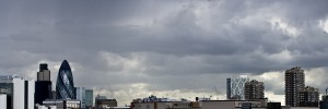 Stormy skies over Fortress Wapping by Zefrog