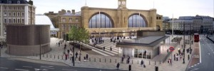 The new King's Cross: goodbye green canopy, hello public plaza