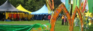 Plenty for the kids to do at London Mela 2011 in Gunnersbury Park on Sunday