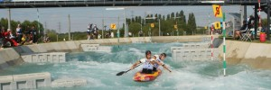 Olympic test event at Lee Valley White Water Centre