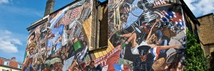 The Battle of Cable Street mural photo by Prophecy Blur