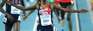 Mo Farah helped Team GB reach their medal goals in Daegu.