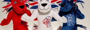 Pride the Lion - Team GB's mascot and moneyspinner