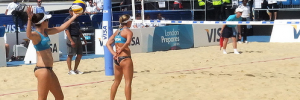 Photo of the Beach Volleyball test event by evilnick
