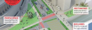 LCC proposes replacing the gryatory with two simple T- junctions