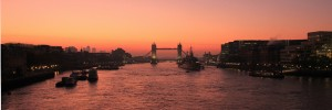 Tower Bridge: at sunrise, by jtkmcc
