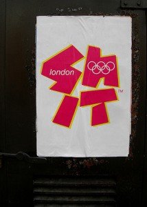 An alternative London 2012 logo