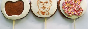 Steve Jobs lollies for Internet Week.