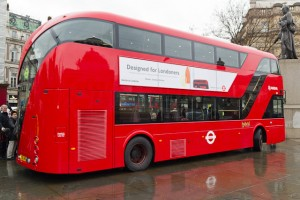 Has The New Bus For London Broken Down Already ? Unveiled in Trafalgar Square on Friday, it seems the New Bus for London might be experiencing some technical trouble already.