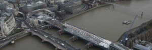 The new Thames-spanning platforms at Blackfriars