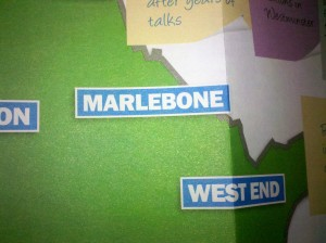 A map of 'Marlebone'