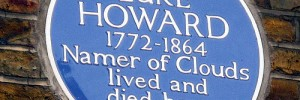 "Luke Howard's Blue Plaque by Helen Duffett on Flickr. As Helen points out, ""Coolest job description. Ever."""