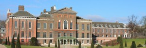 The newly landscaped gardens and new loggia give Kensington Palace a smart new entrance