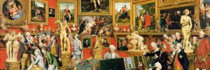 Johan Zoffany. The Tribuna of the Uffizi, 1772-7. The Royal Collection, Her Majesty Queen Elizabeth II. Photo The Royal Collection copyright 2011, Her Majesty Queen Elizabeth II