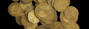 Group of Elizabethan and Jacobean gold coins, © The Trustees of the British Museum