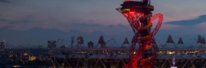 ArcelorMittal Orbit at night