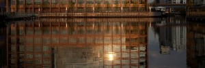A sun-dappled Heron Quays, by worldoflard