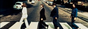 Backbeat: rare back-to-front Abbey Road image up for sale.