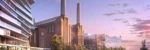 Computer render of Battersea Power Station redevelopment