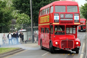 Watch out for the RM5 in Covent Garden on Saturday and on the 38 route on Sunday / photo Steve Way