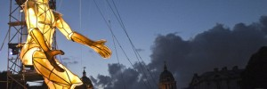 Prometheus Awakes by Graeae and La Fura dels Baus at National Maritime Museum