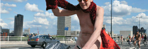 Yep, it's that time of year again. World Naked Bike Ride photo 2011 by Mike King.