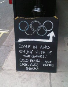 Supporting TeamGB