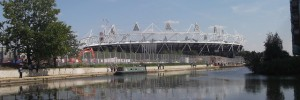 The Olympic Stadium from Hackney Wick
