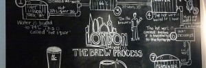 The London Brewing Co brew process.