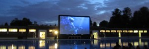 The Luna Cinema at Brockwell Lido: just one of the settings for this summer's screenings