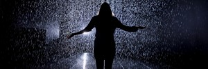 Rain Room Installation images © Felix Clay. Rain Room - Random International 2012. Courtesy of Barbican Art Gallery