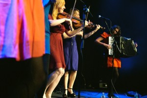Folk band The Shee on stage at Kings Place