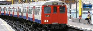 Farewell to the old Metropolitan Line trains.